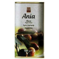 Yerlim Organic Ania Alaca  Oleabloom  Cold Press Olive Oil 500ml  Tin
