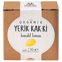 Yerlim Organik KAK-Kİ Basdil Limon Pestili 50gr