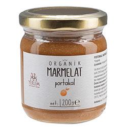 Yerlim Organik Portakal Marmelatı 200g