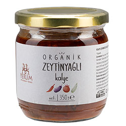 Yerlim Organic Kalye With Olive Oil  Dried Vegetables with Tomatoes Sauce  350g