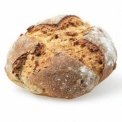 YERLİM Organik Ekşi Mayalı Tam Buğday Ekmek (Cevizli) 630gr