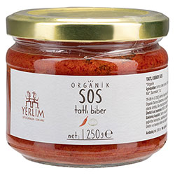 Yerlim Organic Red Pepper Sauce 250g