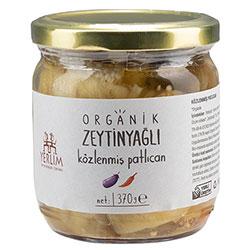 Yerlim Organik Zeytinyağlı Közlenmiş Patlıcan 370gr