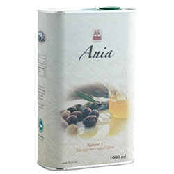Yerlim Organic Olive Oil  Ania Natural  750ml  Tin