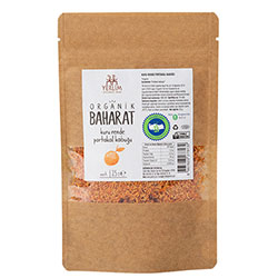 Yerlim Organic Grated Orange Peel 25g