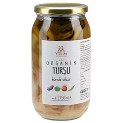 Yerlim Organic Mix Vegetable Pickle 950g