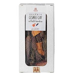Yerlim Organik Şeftalili Karabaş Çayı 40g
