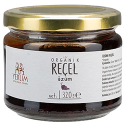 Yerlim Organic Grape Jam 320g