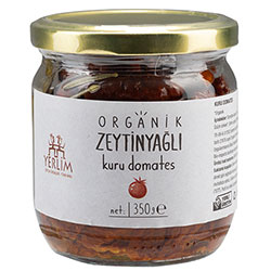 Yerlim Organic Dried Tomato With Olive Oil 350g