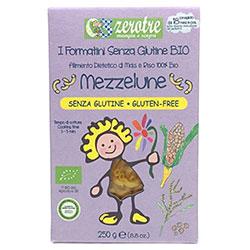 Zerotre Organik Glutensiz Sade Makarna (Bukle, Mezzelune) 250g